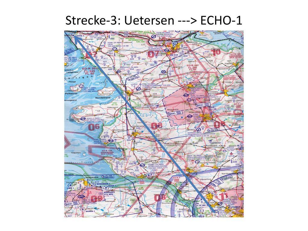 Strecke-3: Uetersen ---> ECHO-1