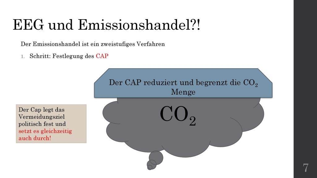 EEG und Emissionshandel !
