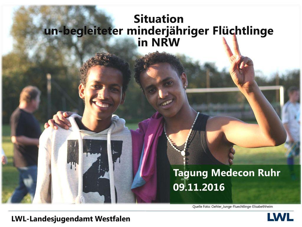 Situation un-begleiteter minderjähriger Flüchtlinge in NRW