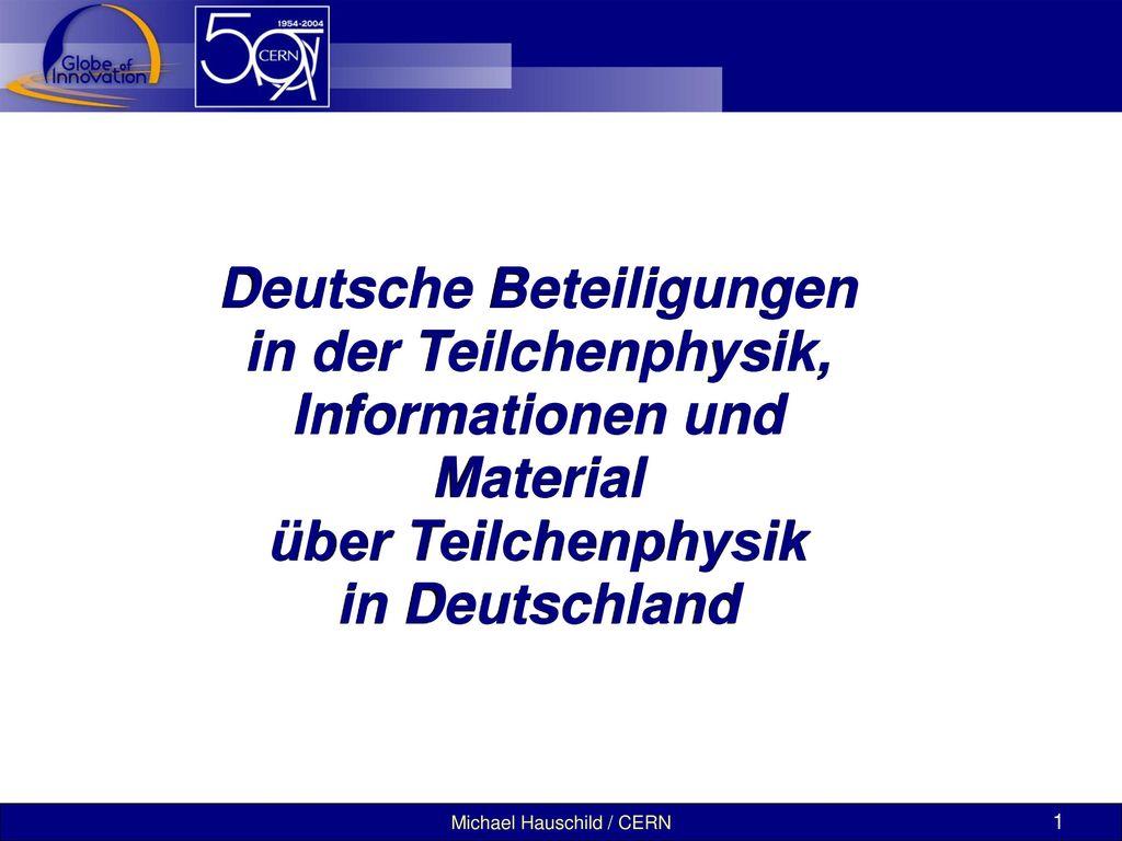 Deutsche Beteiligungen Informationen und Material
