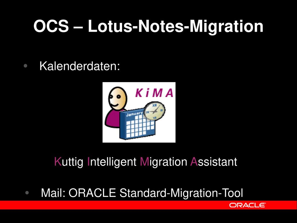 OCS – Lotus-Notes-Migration