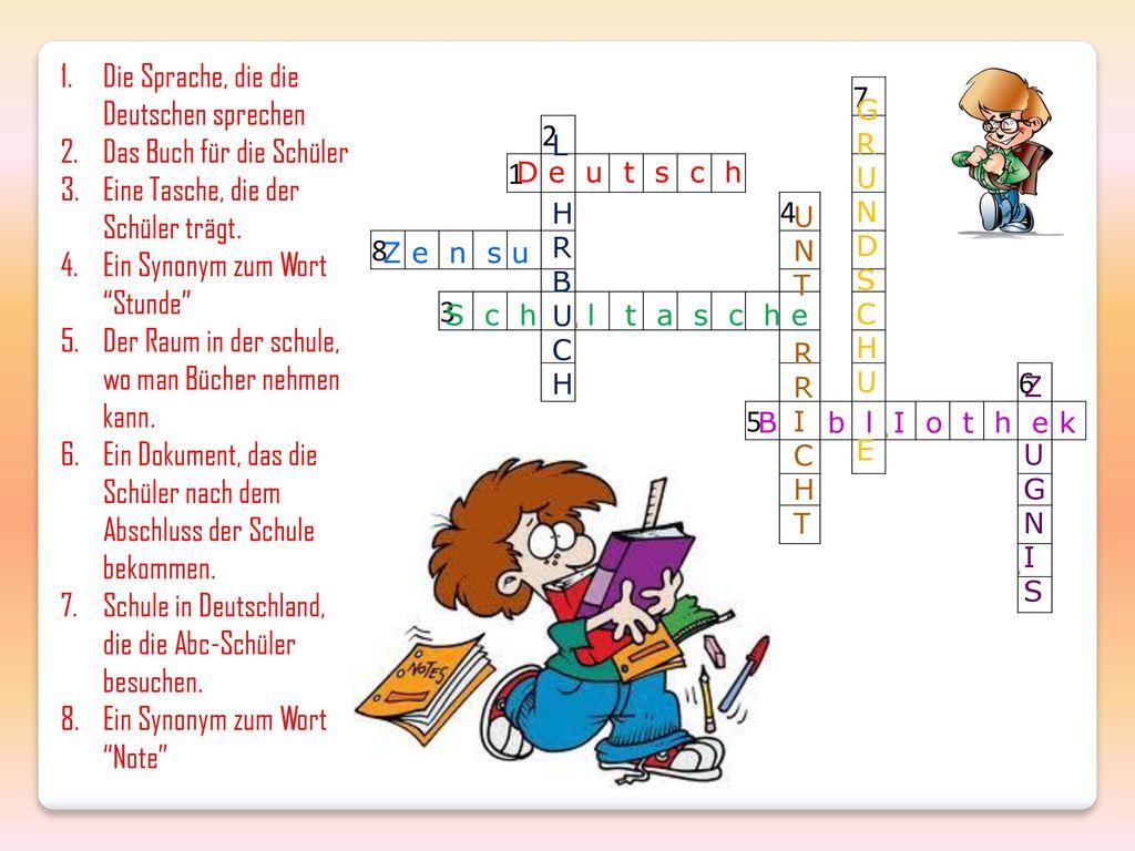 Die Sprache, die die Deutschen sprechen Das Buch für die Schüler
