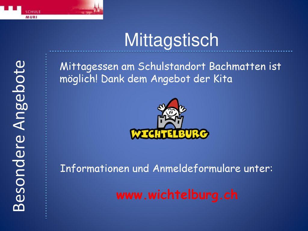 Mittagstisch Besondere Angebote www.wichtelburg.ch