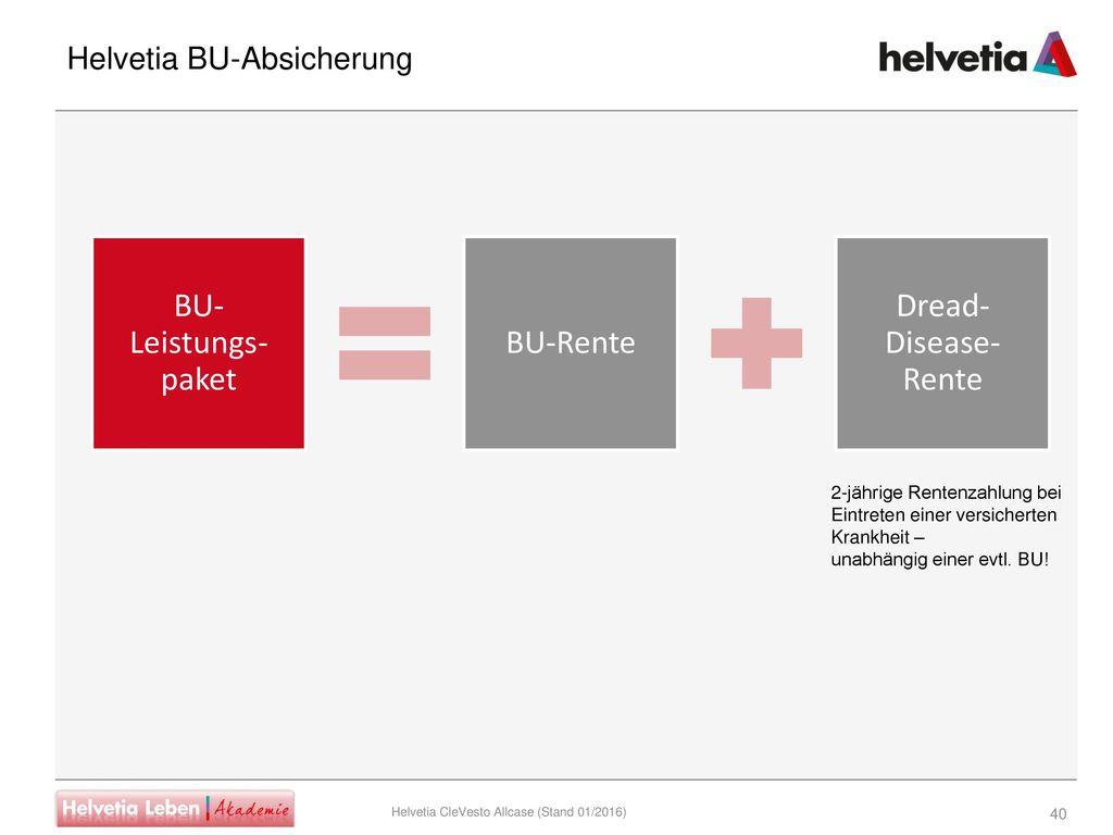 Helvetia BU-Absicherung