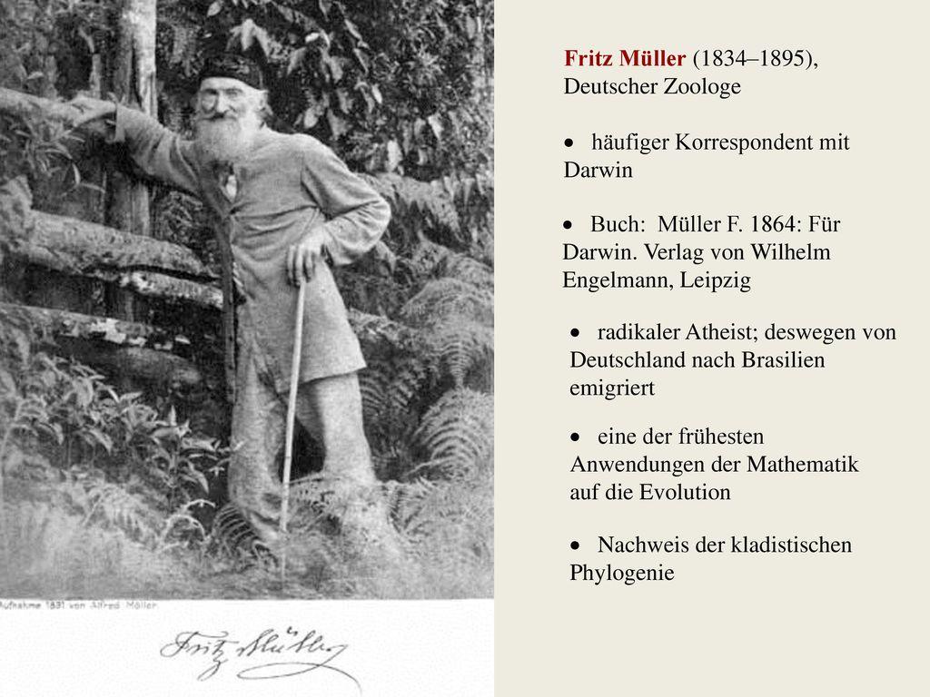 Fritz Müller (1834–1895), Deutscher Zoologe
