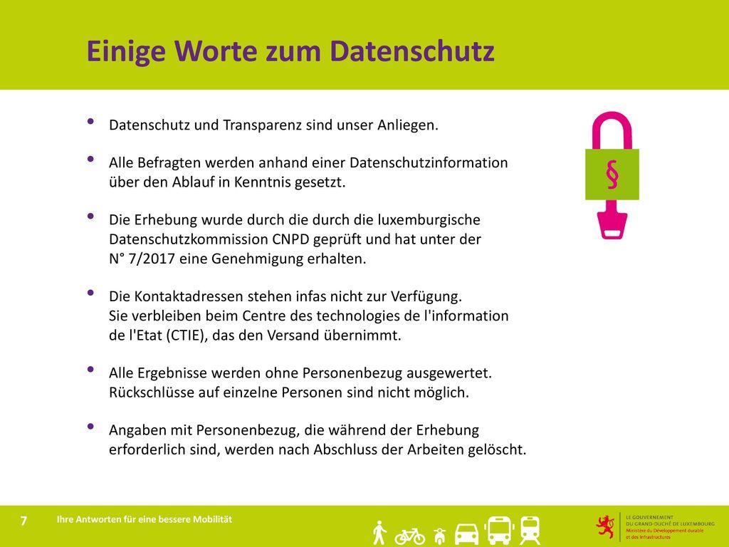 Einige Worte zum Datenschutz