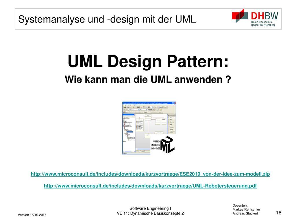 Systemanalyse und -design mit der UML