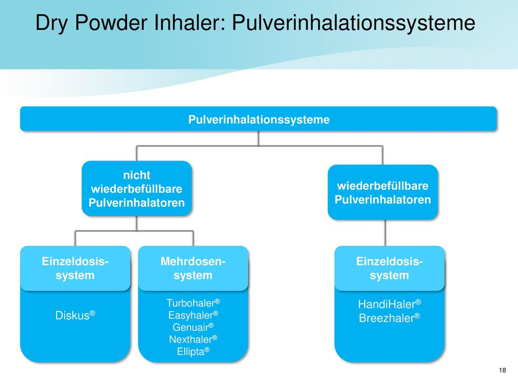 Dry Powder Inhaler: Pulverinhalationssysteme