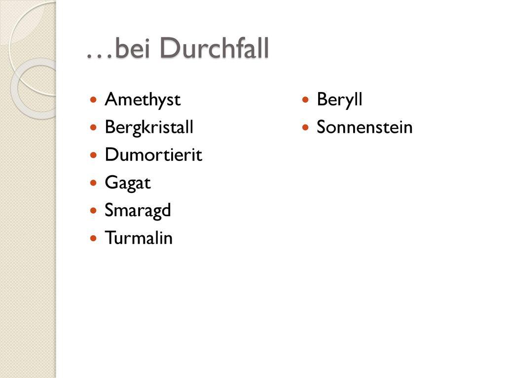 …bei Fieber Achat Bernstein Blauquarz Chrysokoll Diamant Dumortierit
