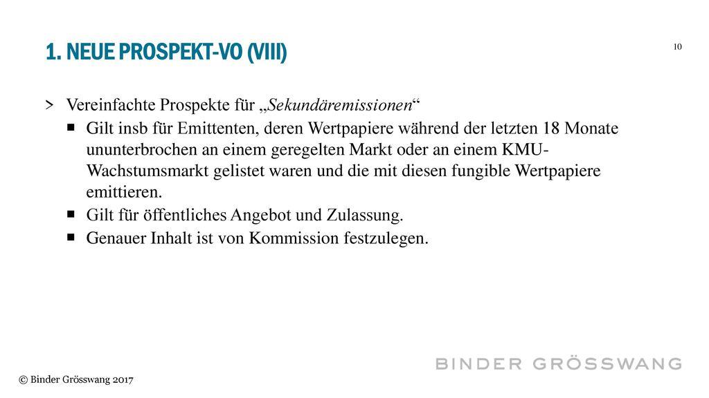 1. Neue Prospekt-vo (VIII)