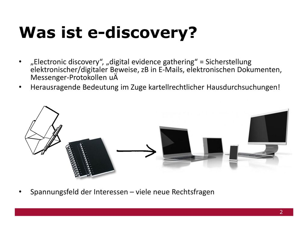 Was ist e-discovery