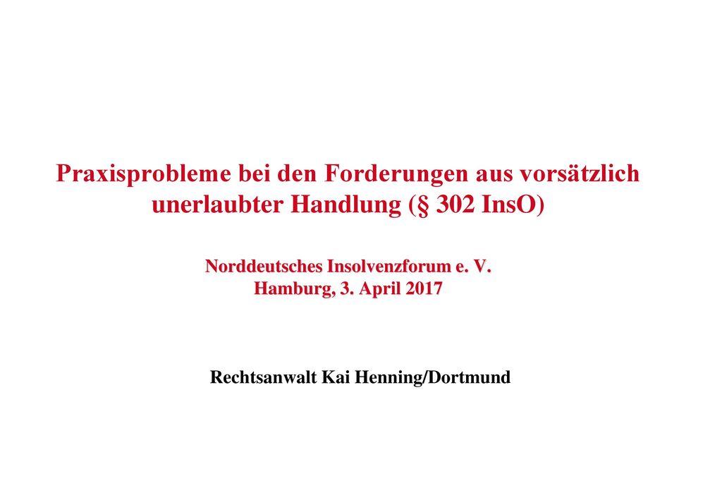 Rechtsanwalt Kai Henning/Dortmund