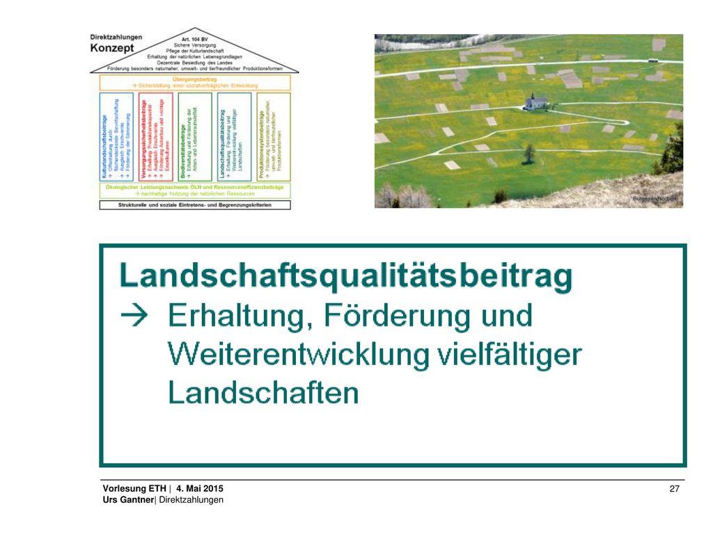 Art. 2 Abs. 3 In Abweichung von Absatz 1 sind auch juristische Personen mit Sitz in der Schweiz sowie Kantone und Gemeinden für Biodiversitäts- und Landschaftsqualitätsbeiträge beitragsberechtigt, sofern sie Bewirtschafterinnen des Betriebs sind.