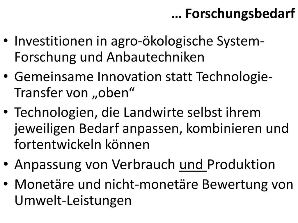 Anpassung von Verbrauch und Produktion