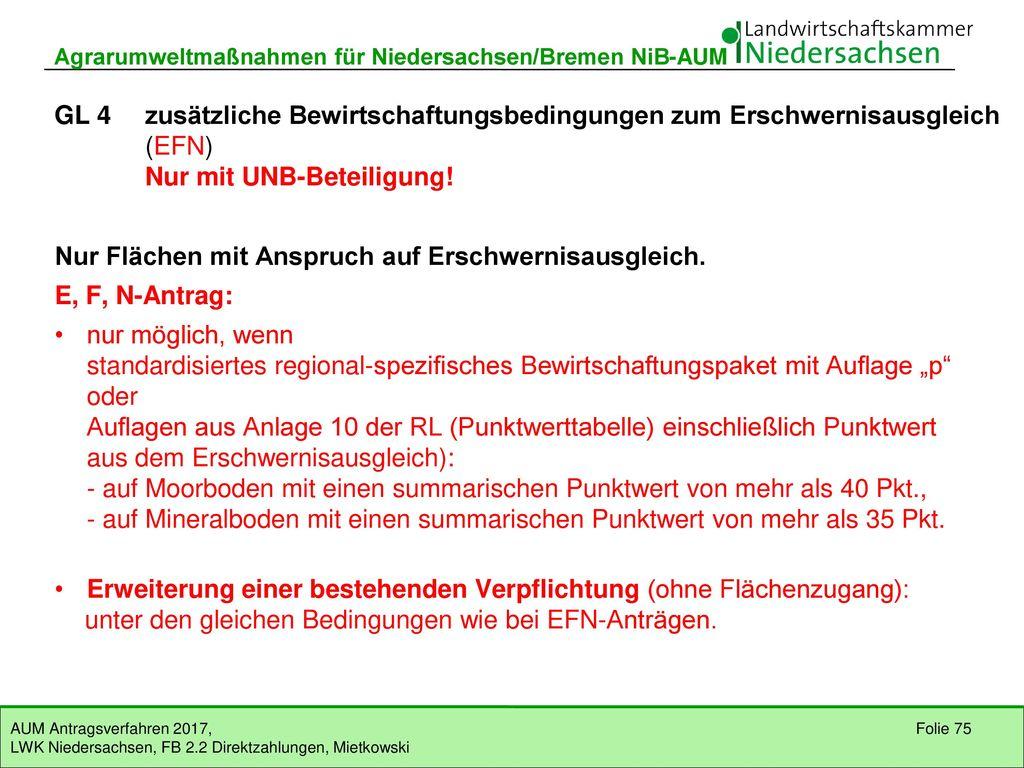 GL 3 Weidenutzung in Hanglagen GL31 Grundförderung Auflagen (Auszug)