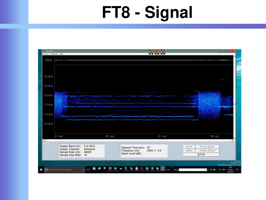 FT8 - Signal