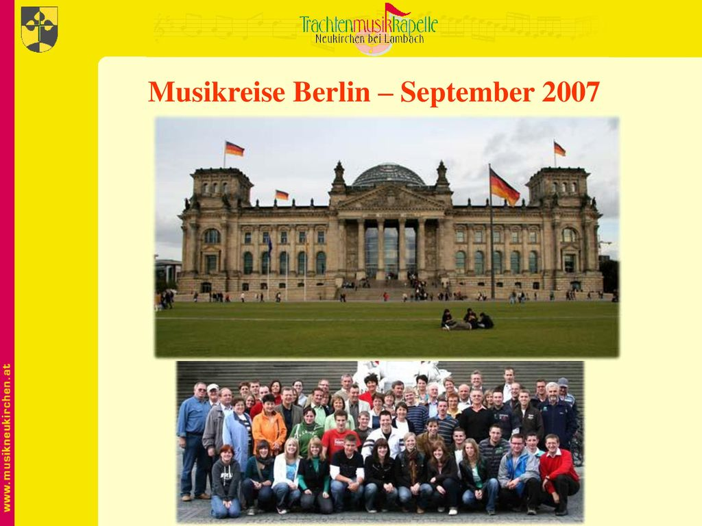 Musikreise Berlin – September 2007
