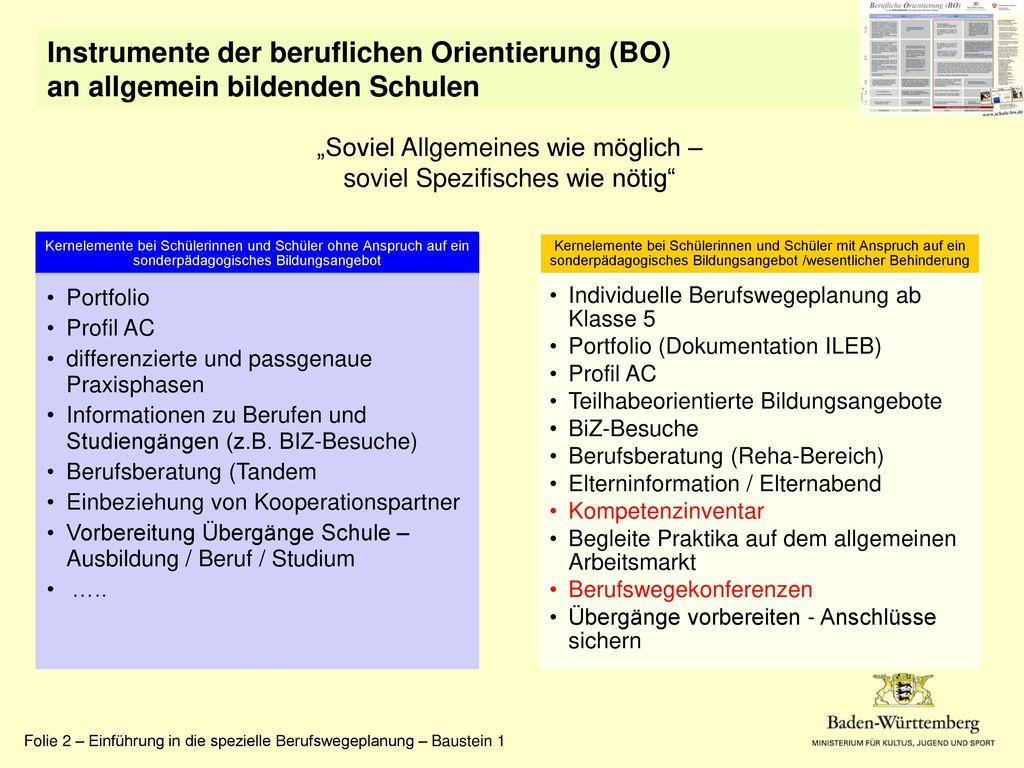"""""""Soviel Allgemeines wie möglich – soviel Spezifisches wie nötig"""