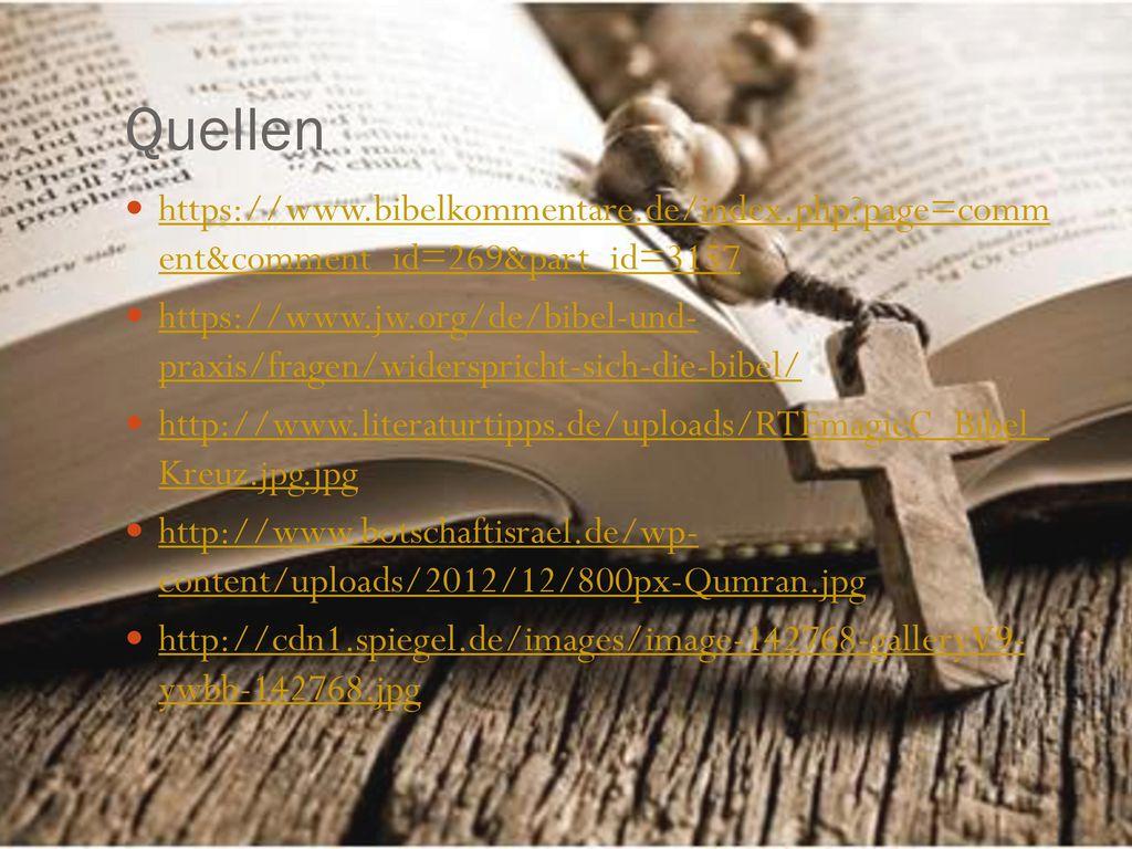 Quellen https://www.bibelkommentare.de/index.php page=comm ent&comment_id=269&part_id=3157.