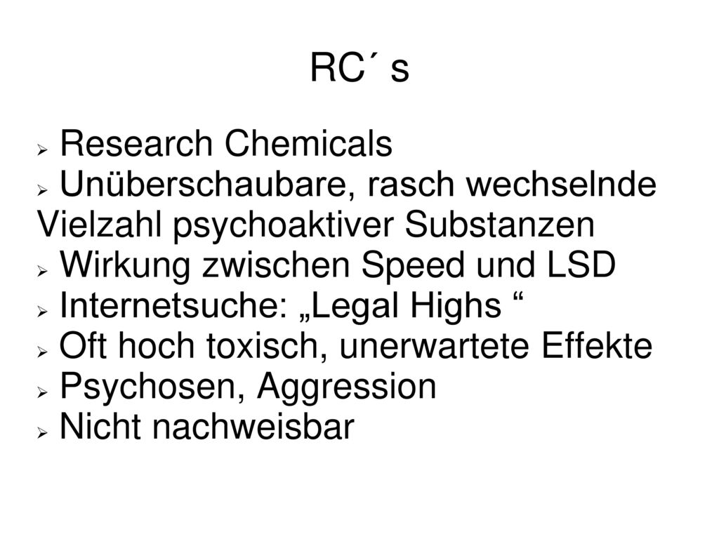 RC´ s Research Chemicals