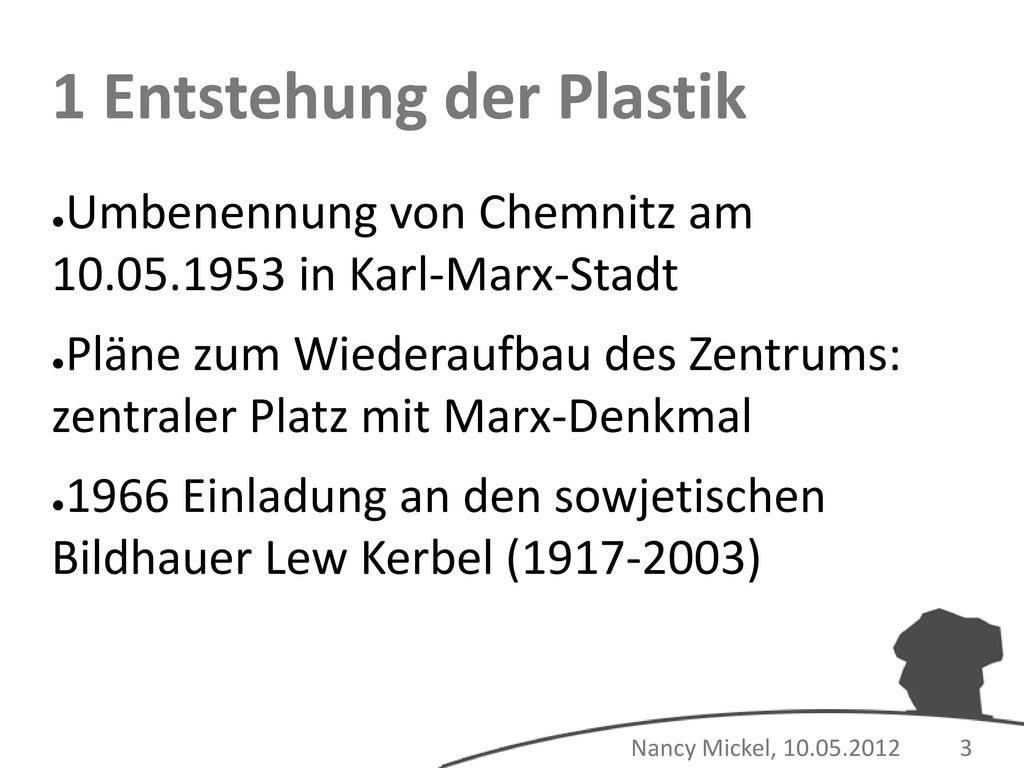 1 Entstehung der Plastik