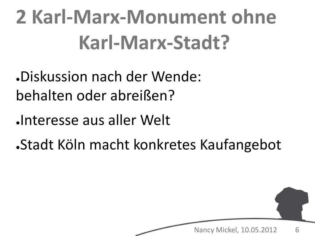 2 Karl-Marx-Monument ohne Karl-Marx-Stadt