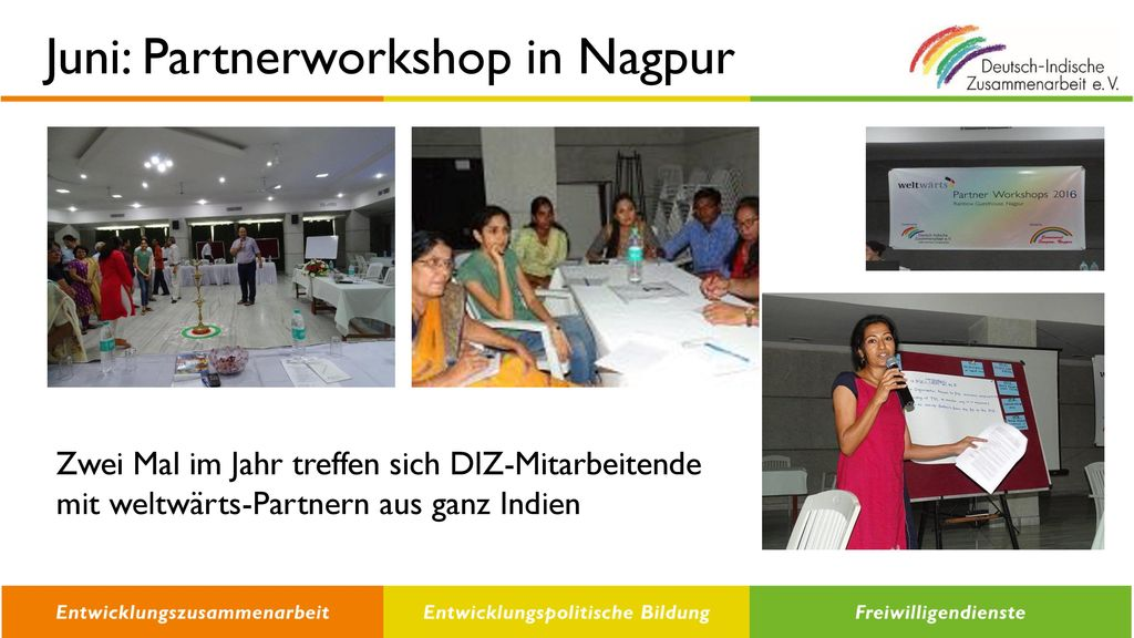 Juni: Partnerworkshop in Nagpur