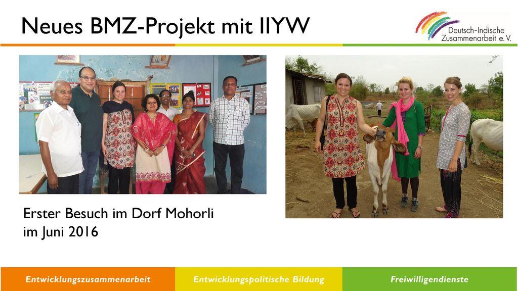 Neues BMZ-Projekt mit IIYW