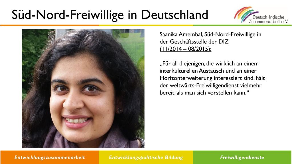 Süd-Nord-Freiwillige in Deutschland