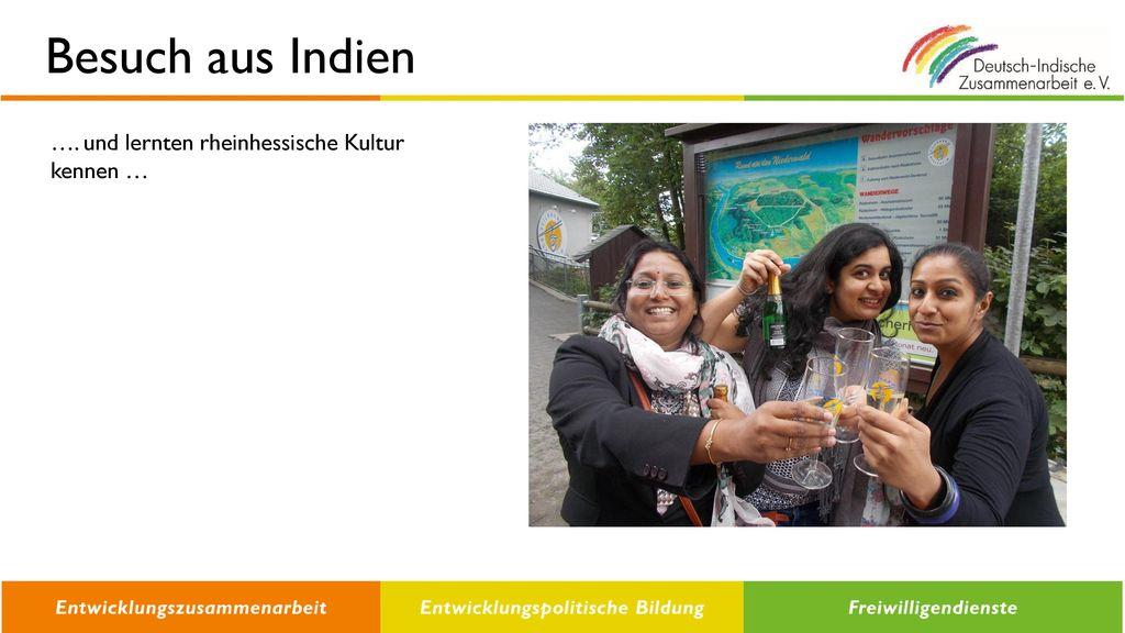Besuch aus Indien …. und lernten rheinhessische Kultur kennen …