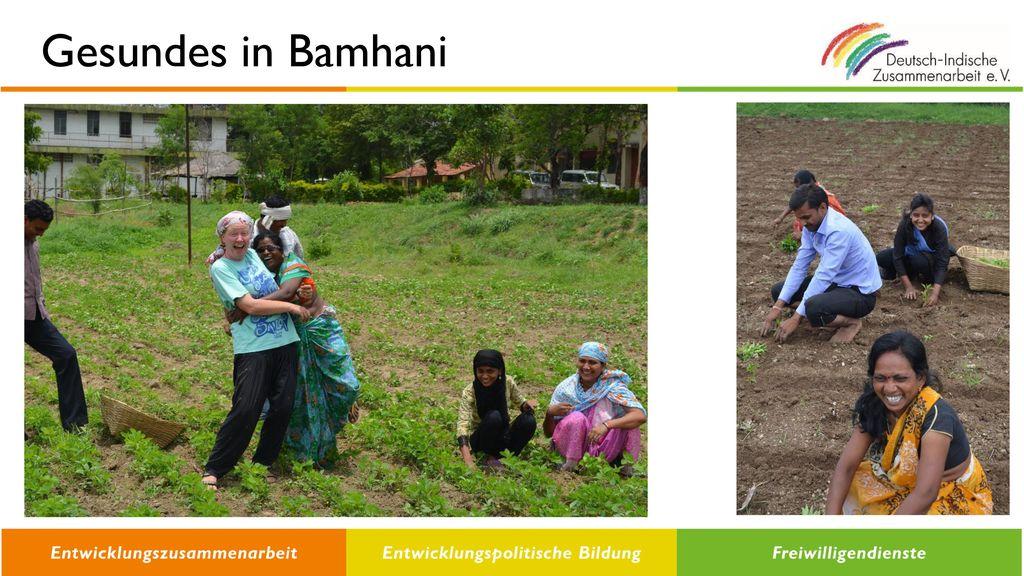 Gesundes in Bamhani
