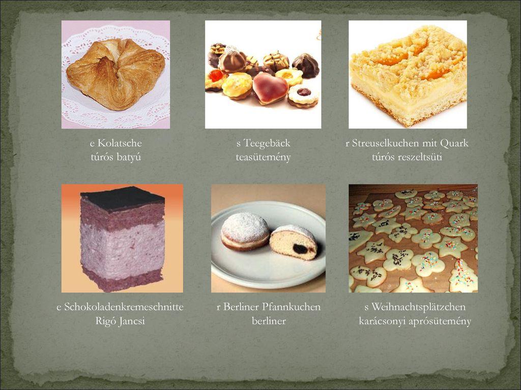 r Streuselkuchen mit Quark túrós reszeltsüti