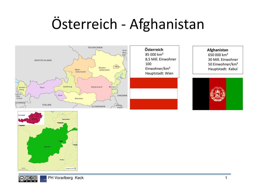 Österreich - Afghanistan