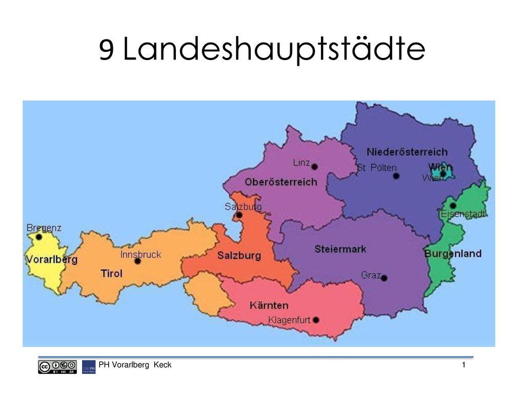 9 Landeshauptstädte