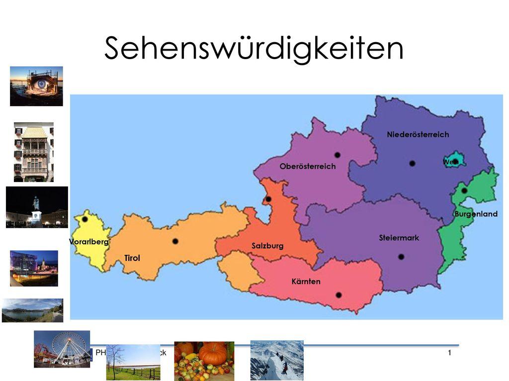 Sehenswürdigkeiten Tirol Niederösterreich Oberösterreich Burgenland