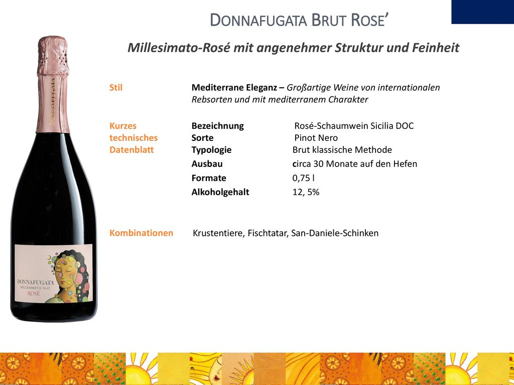 Donnafugata Brut Rose'