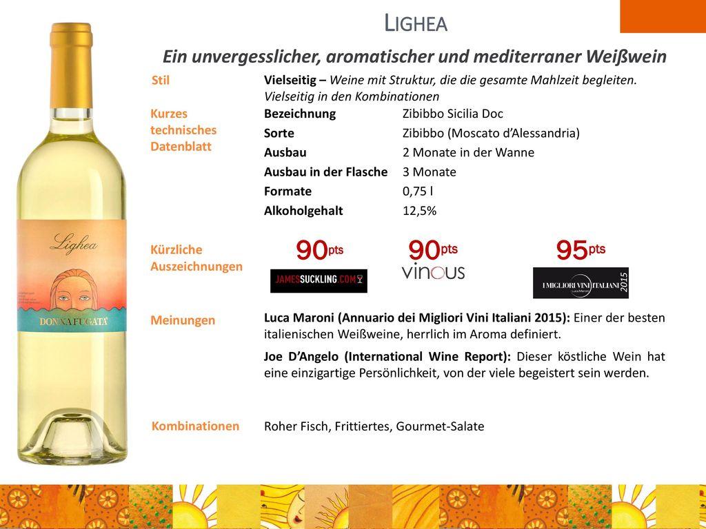Ein unvergesslicher, aromatischer und mediterraner Weißwein