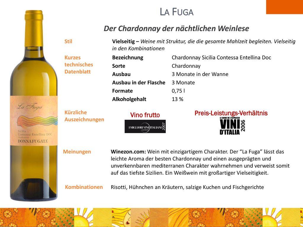 Der Chardonnay der nächtlichen Weinlese