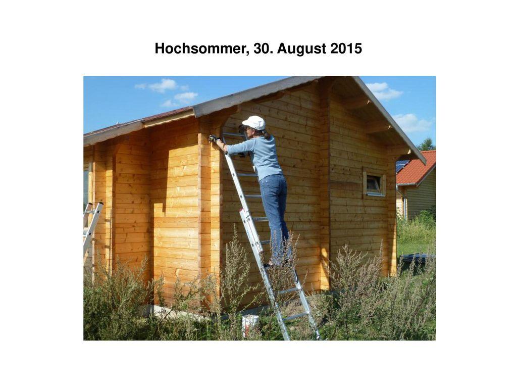 Hochsommer, 30. August 2015