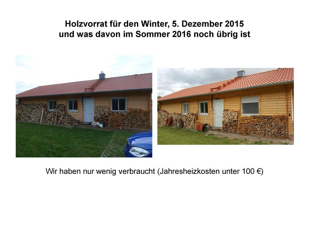 Holzvorrat für den Winter, 5