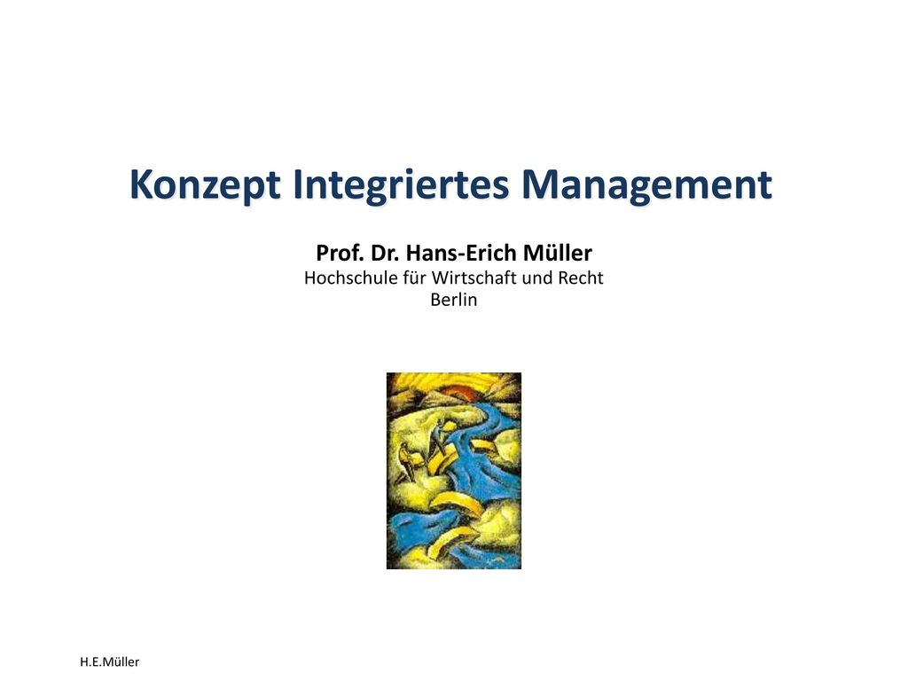 Konzept Integriertes Management