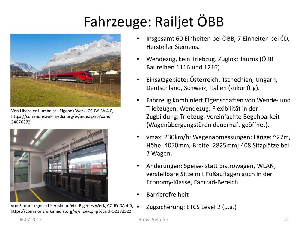 Fahrzeuge: Railjet ÖBB