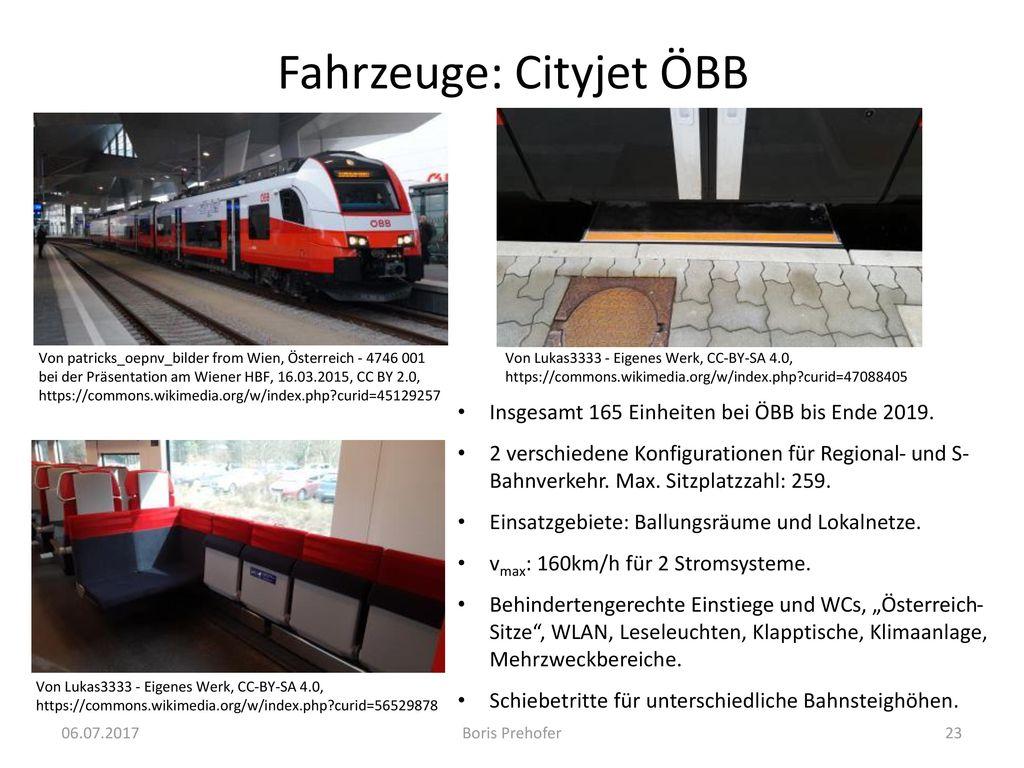 Fahrzeuge: Cityjet ÖBB