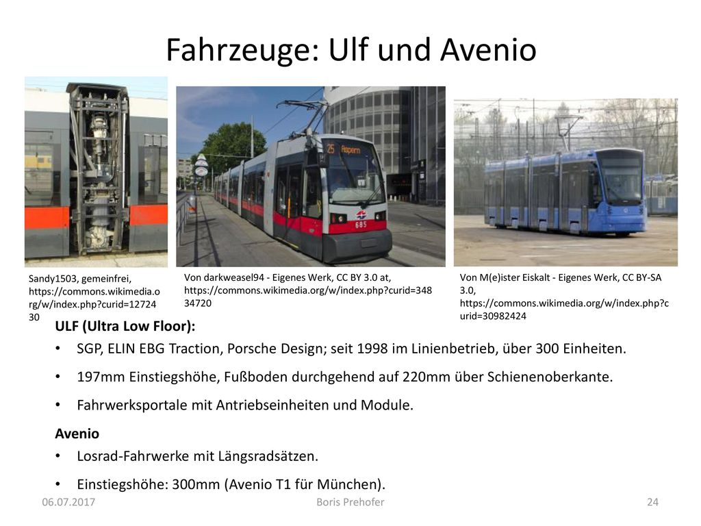 Fahrzeuge: Ulf und Avenio