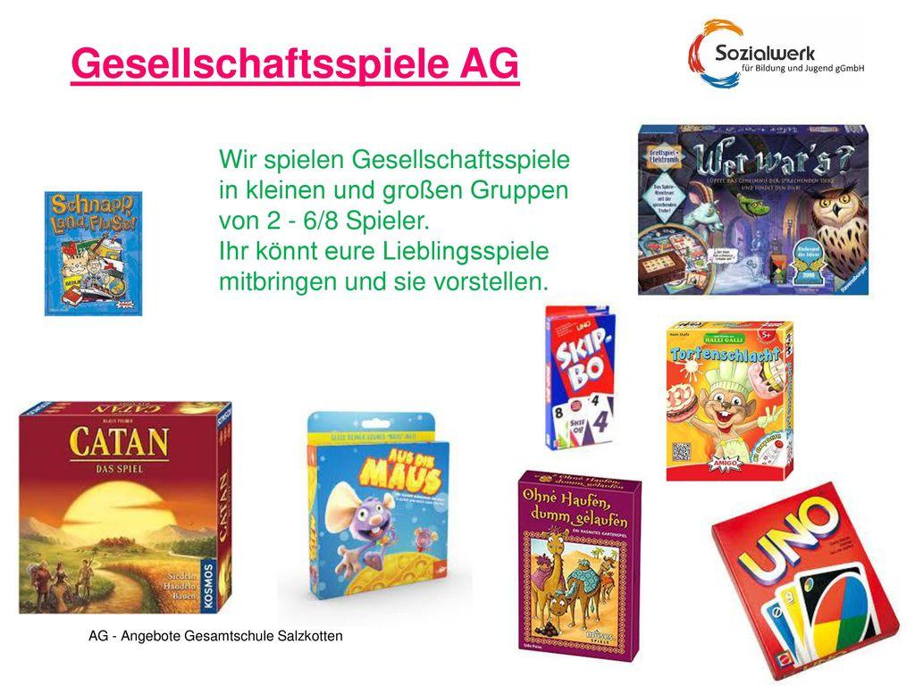 Gesellschaftsspiele AG