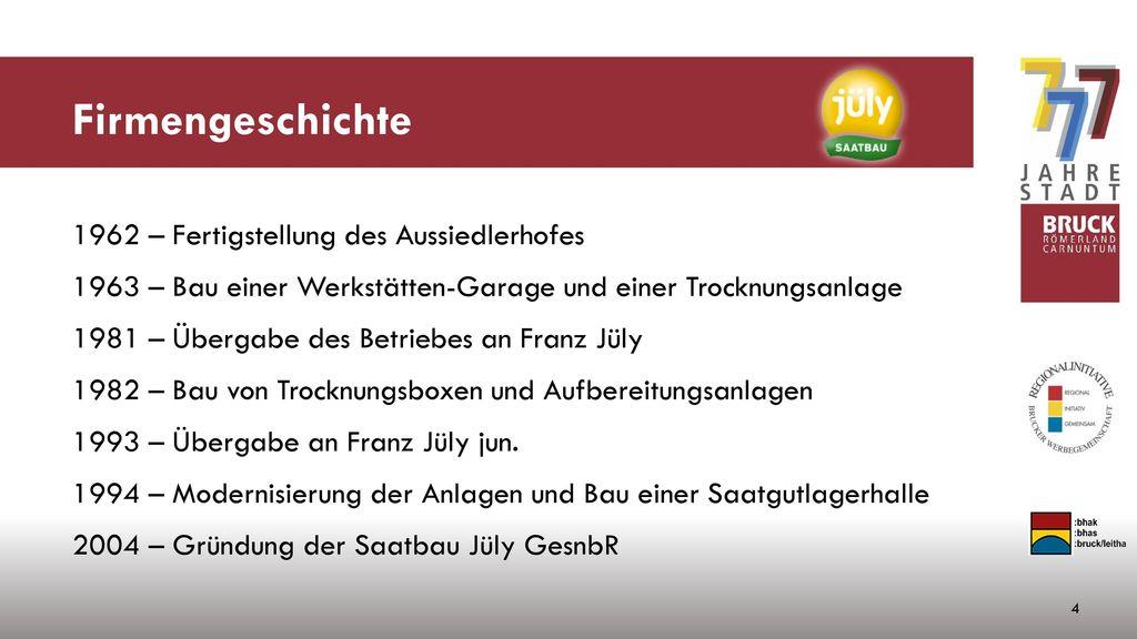 Firmengeschichte 1962 – Fertigstellung des Aussiedlerhofes