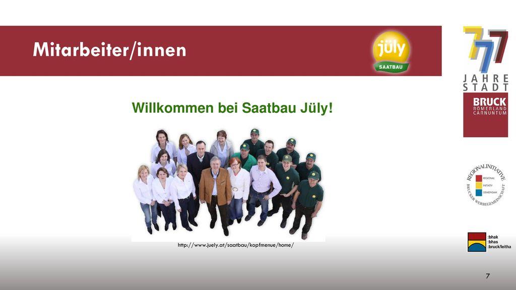 Willkommen bei Saatbau Jüly!