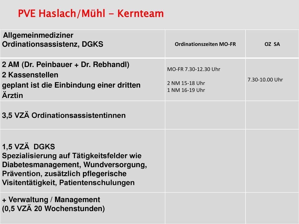 PVE Haslach/Mühl - Kernteam