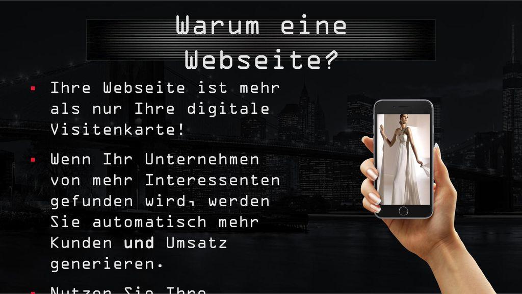 Warum eine Webseite Ihre Webseite ist mehr als nur Ihre digitale Visitenkarte!