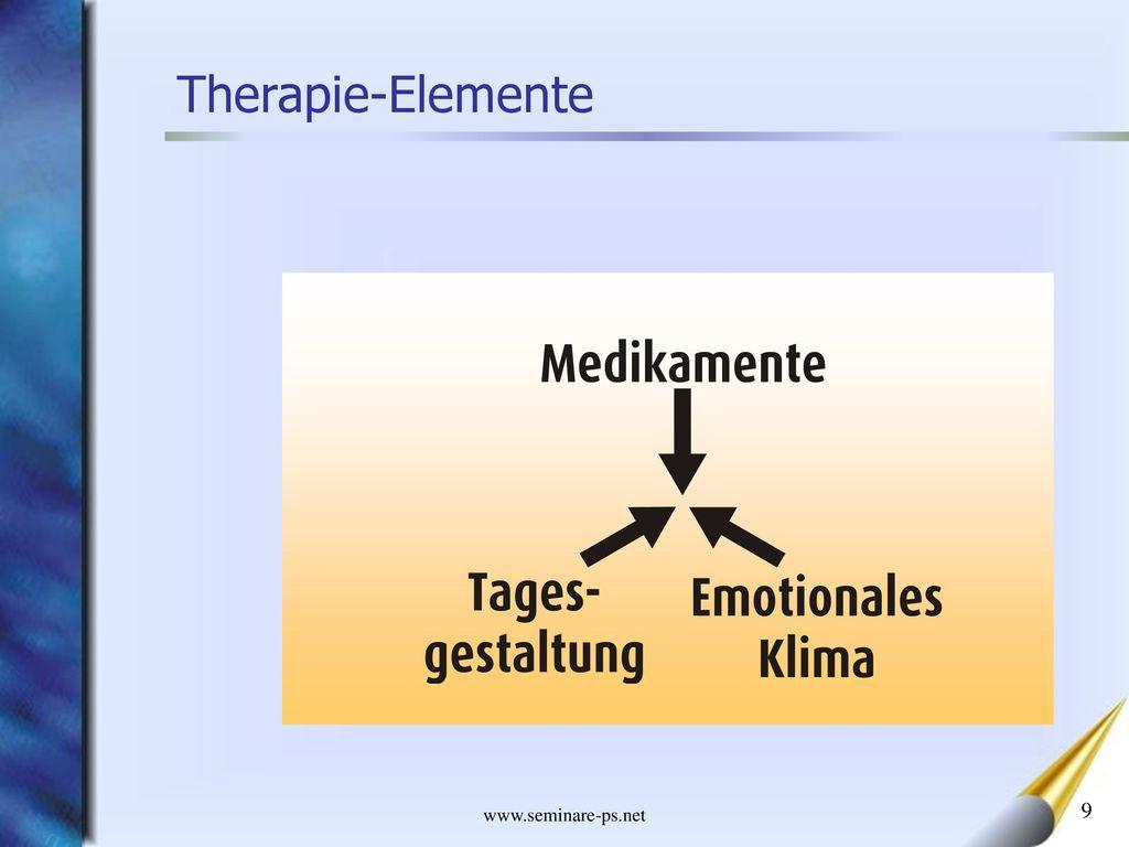 Therapie-Elemente www.seminare-ps.net